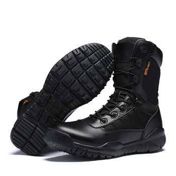 Special Forces Military Tactical Combat Outdoor Sport Army Men Boots Desert Botas Shoes Travel Leather High Boots High Quality