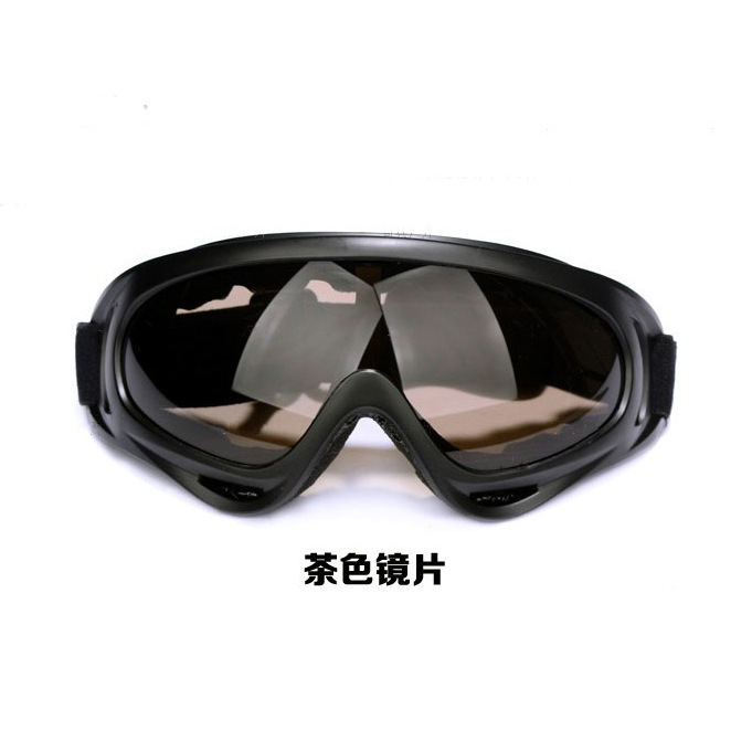 Ski Goggles Motorcycle Windproof Sand Eye-protection Goggles Riding Sports Outdoor Off-road Goggles Army Fans Glasses X400