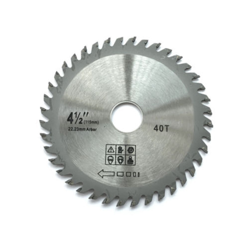 115mm 40 TCT Teeth Angle Grinder Circular Saw Leave For Cutting Wood Plastic 22.23mm Saw Leave New 2019