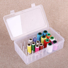 Sewing Thread Storage Box Spools Bobbin Carrying Case Container Holder Craft Spool Sewing  Spools Reels Sorting Boxes Organizer