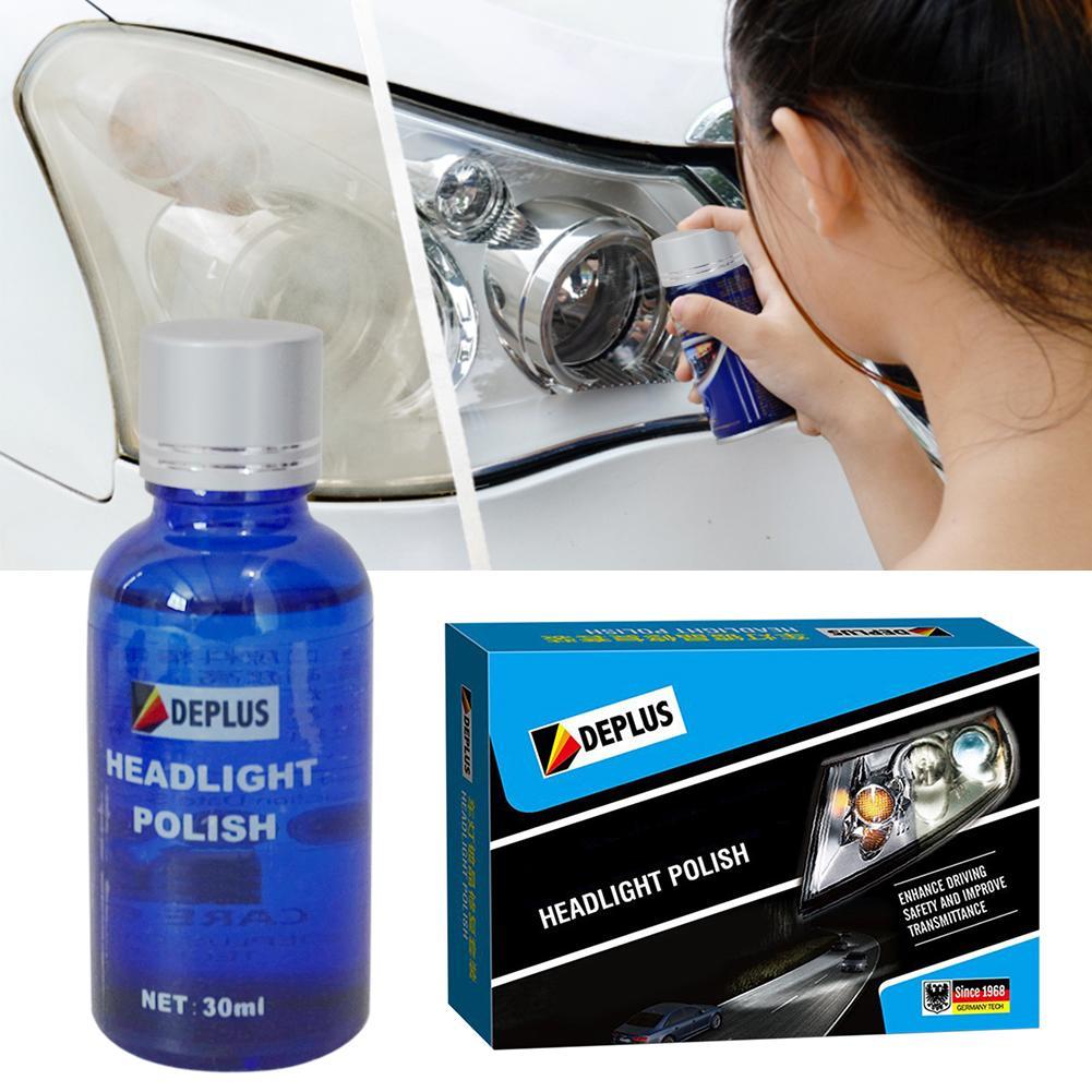 7pcs/set Car Headlight Restoration Kit Auto Lamp Lenses Repair Liquid Repair Polishing For Car Anti-scratch Restores