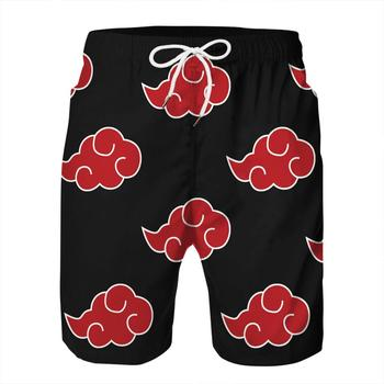 Swimwear Swimming Shorts for Men Trunks Plus Size Naruto Printed Quick Dry Swimsuit Man Beachwear Surfing Board