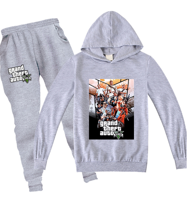GTA Sweat Suit Set 1