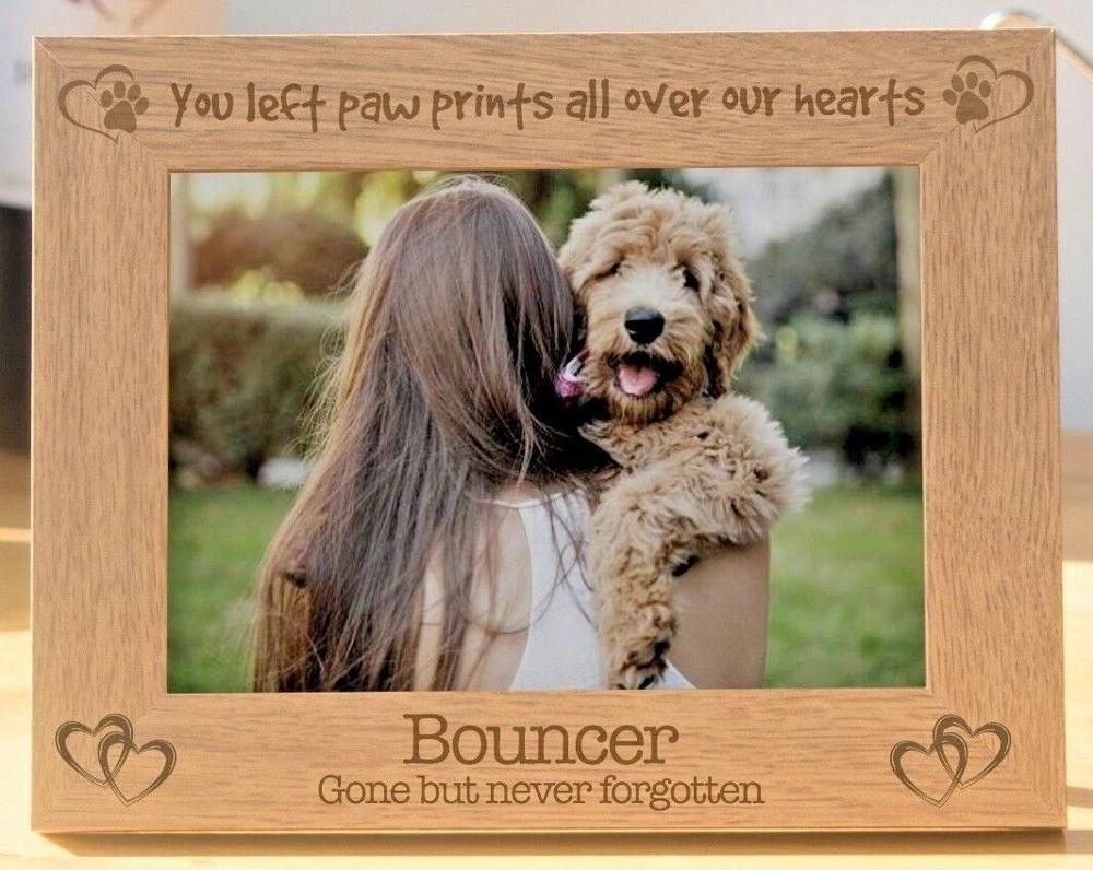Персонализированная фоторамка для собак, подарок, сувенирный подарок, фоторамка для собак, рама для потери питомцев, подарок для памяти