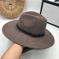 Star Sir? Ms. Cap to Europe and the United States wool cowboy new winter men handsome joker hat