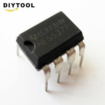 50pcs NE5532P NE5532 Dual Low Noise Op-Amp TI IC DIP-8 m carcassi 8 divertimenti op 25