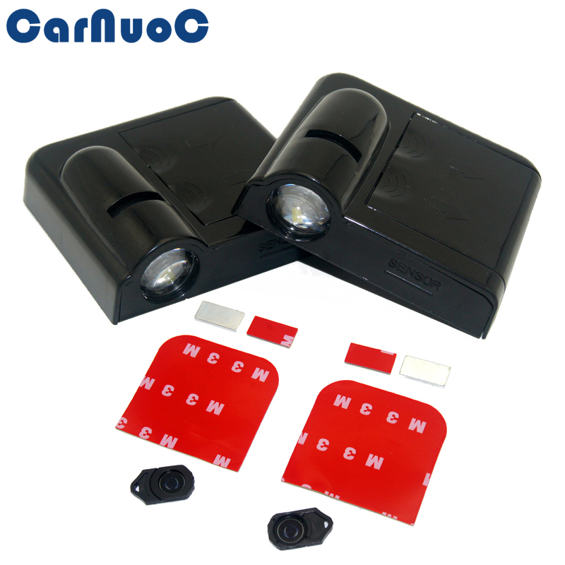 2x <font><b>Led</b></font> Car Door Light Logo Projector Wireless Ghost Shadow Light Car Welcome Light For <font><b>Peugeot</b></font> 3008 508 2008 <font><b>208</b></font> 206 207 308 307 image