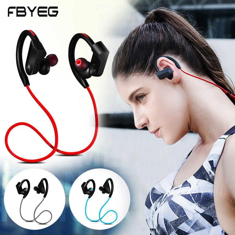 K98 Bluetooth Earphone Wireless Headphones bluetooth sport headset stereo bass earbuds With Mic for Phone