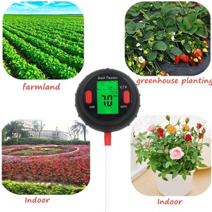 Image 5 - 5 in 1 PH Soil Tester Water Moisture Meter Humidity Thermometer Photometer Water Meter Garden Plants Hydroponics Analyze 40%off