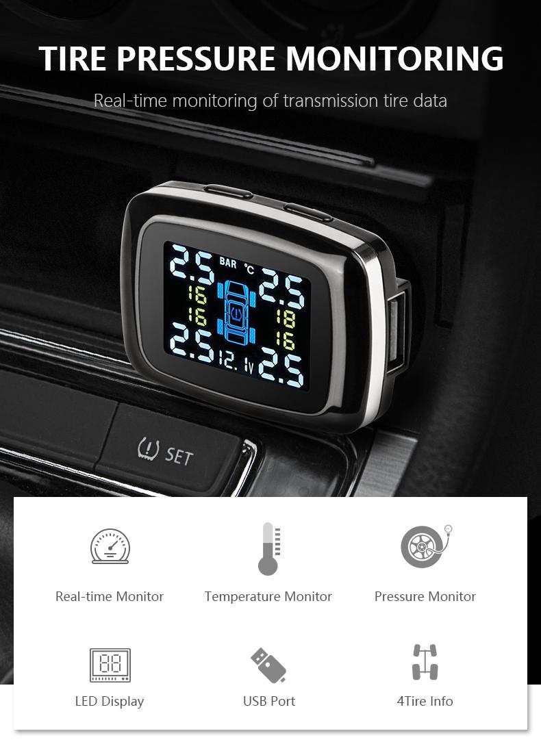 Jmcq автомобильная система контроля давления в шинах tpms cigaretter