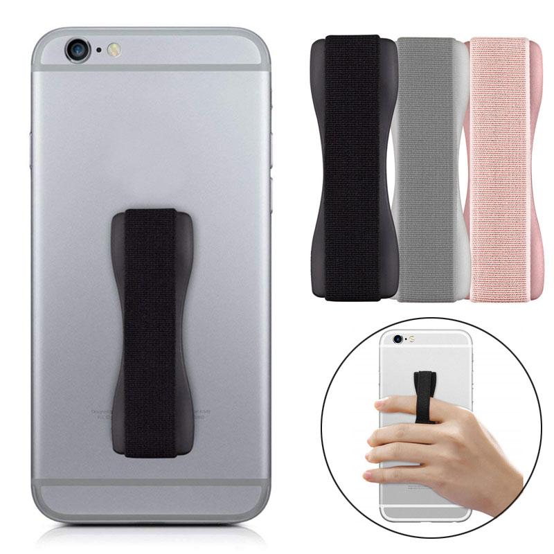 1PC Tonbux Q2 Hand Phone Holder Finger Holder Set For Iphone 11 8 7 6 Phone Handle Holder Kindle Smartphone Hands Holders Helper