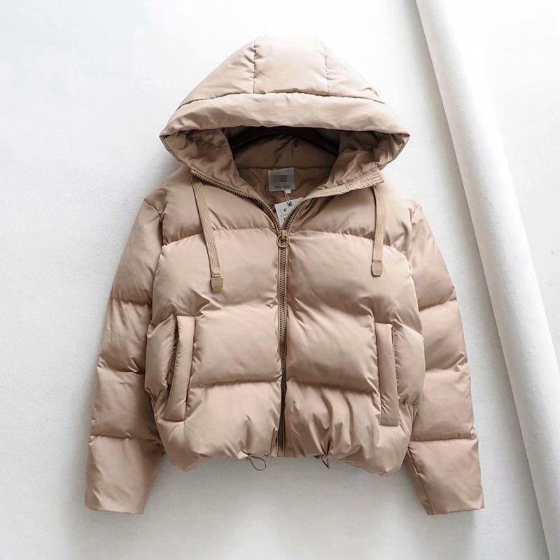 Winter Hooded Parkas Woman Warm Down Jacket Cotton Padded Jacket Large Size Woman Coat Thicken Women Casual Women Puffer Jacket