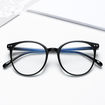 2020 Vintage Trends Office Anti Blue Light Oversized Glasses Computer Women Blue Blocking Gaming Big Size Men Eyeglasses Frame image