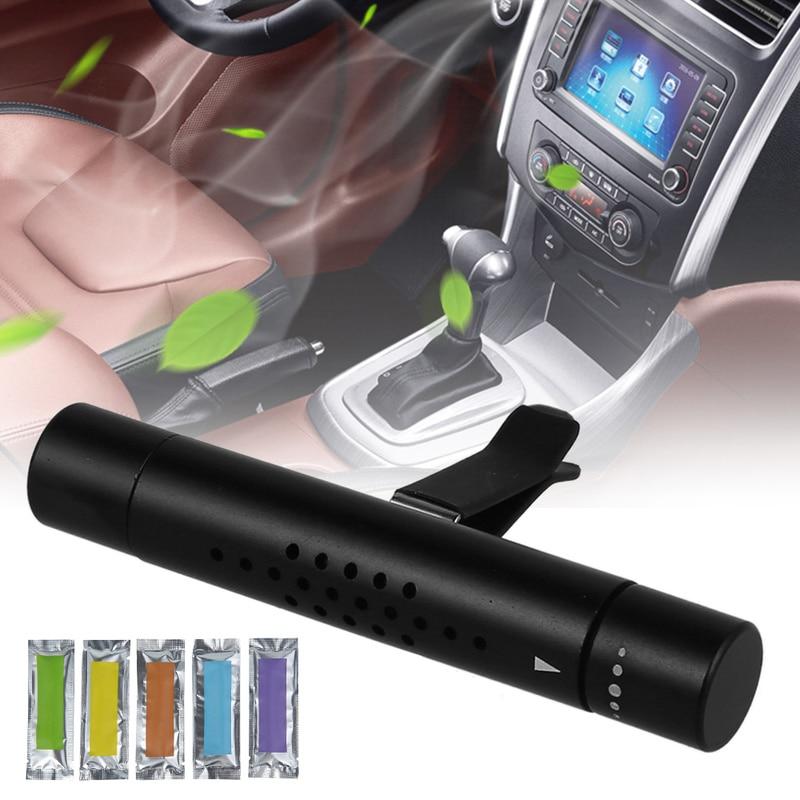 Освежитель воздуха для автомобиля, клипсы для духов из алюминиевого сплава с бесплатными ароматами, Автомобильные Духи, освежитель воздуха...