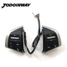 Constante Snelheid Cruise Schakelaar Stuurwiel Panel Afstandsbediening Radio Audio Volume Bluetooth Knop Voor Isuzu D Max Mux