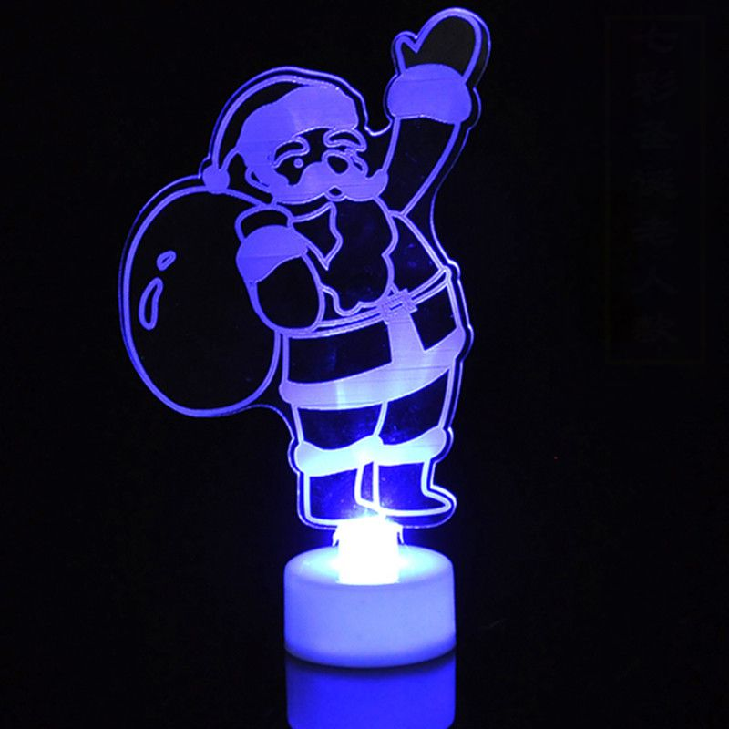 3D LED illusion Batman USB 7Color table Night Light Lamp Bedroom Child gift Her