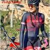 Laranja longo de mangas compridas camisa ciclismo skinsuit 2020 mulher ir pro mtb bicicleta roupas opa hombre macacão 9d gel almofada skinsuit 13
