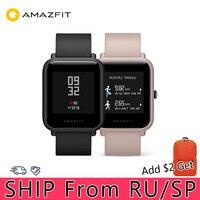 Huami xiaomi amazfit bip lite relógio inteligente huami amazfit smartwatch vida bluetooth 4.0 freqüência cardíaca 45 dias bateria