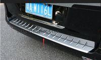 Rear Bumper Protector threshold plate cover Sill Trim for Mercedes Benz Metris Valente Vito Viano V Class W447 2016 2017 2018
