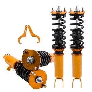 Image 3 - Coilover амортизаторы с регулируемой высотой, амортизирующие стойки для Nissan Z32 300ZX, пружинные амортизаторы