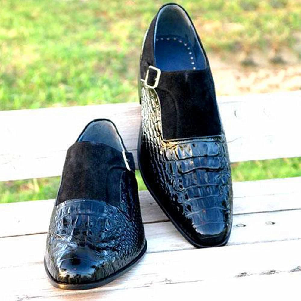Men Leather Shoes Low Heel Casual Shoes Dress Shoes Brogue Shoes Spring Ankle Boots Vintage Classic Male Casual  NE038
