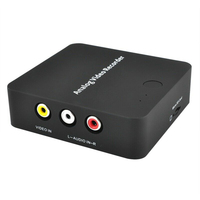 Accessories Digital Black Portable Box No Pc Need HDMI Output Video Recorder Card AV Audio ABS Capture Device Converter
