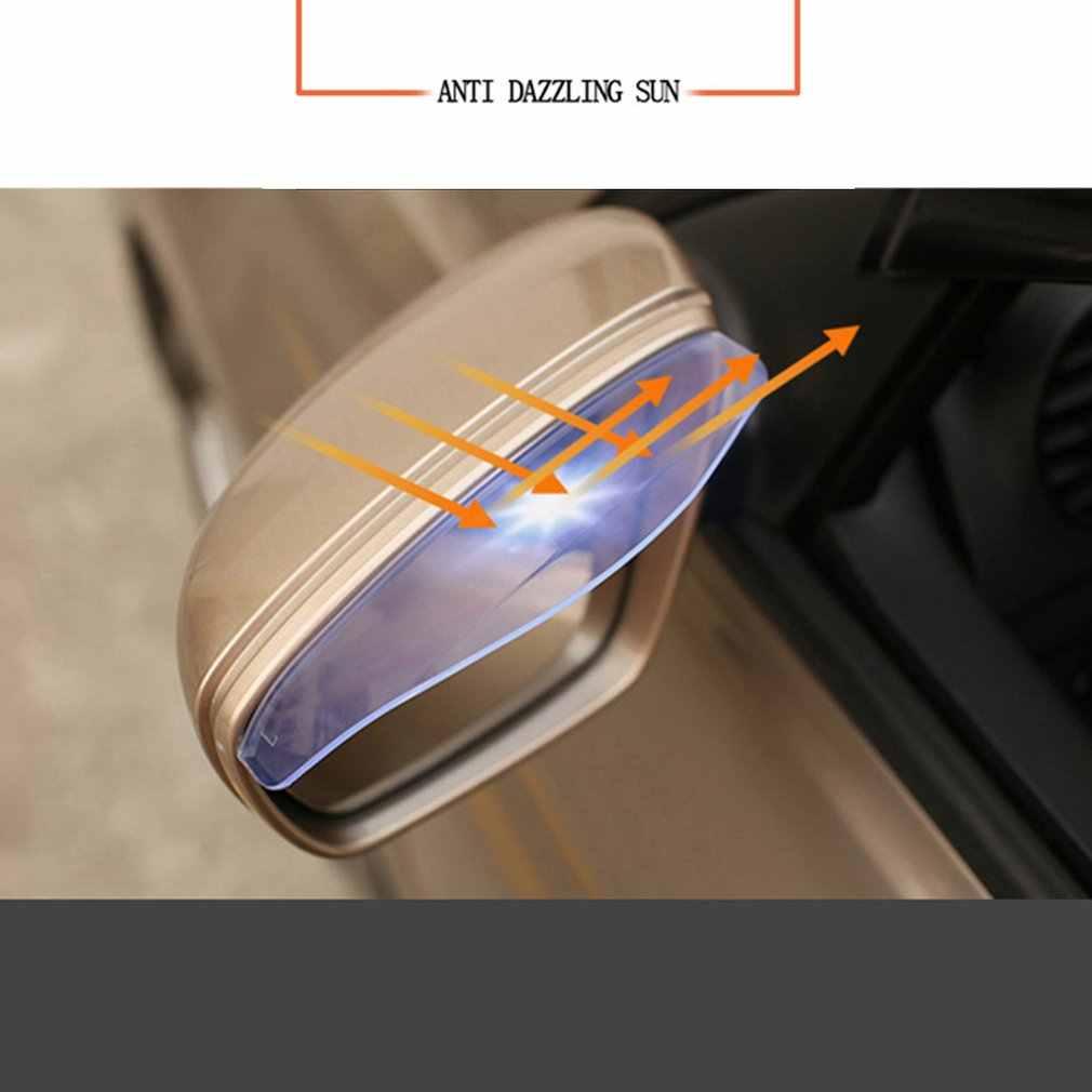 Auto Rückspiegel Regen Augenbraue Auto Mit Spiegel Spiegel Sonnenblende Auto Visier Transparent 1 Paar Auto Zubehör