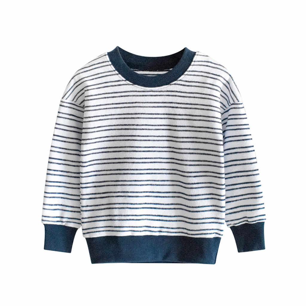 Bebé niños suéter niños suéteres 2019 primavera otoño chico s suéteres niños rayas Jersey niño niña de punto superior chico ropa