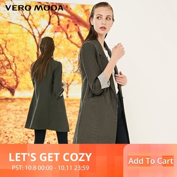 Vero Moda new cuff color matching 3D buckle suit jacket | 318308504