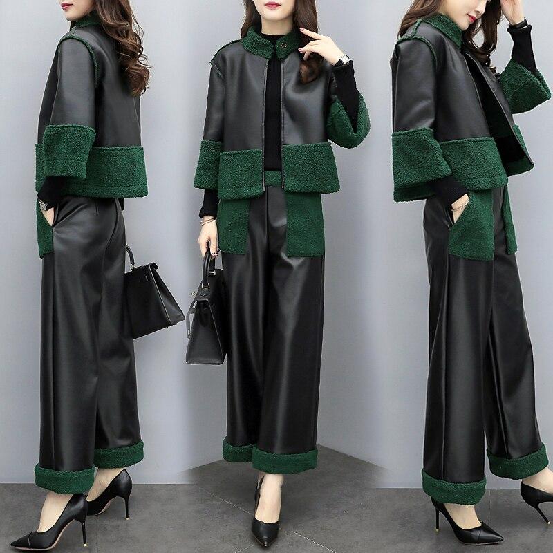 Mode couture deux pièces Ensemble vêtements pour femmes Ol grande taille Femme Costume Ensemble Femme Survetement année Femme Costume