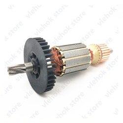 Роторный узел для арматуры 220-240 в, замена для Makita HR1830 HR 1830 HR-1830 515649-8, аксессуары для электроинструментов