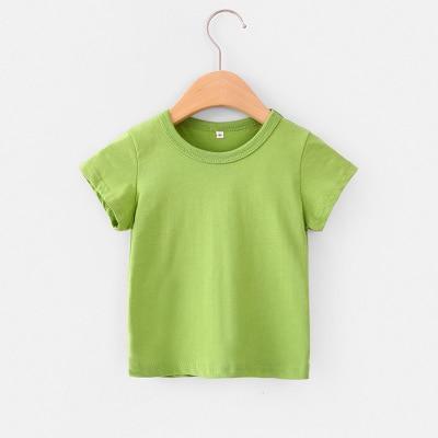 Summer Children Clothing Boys T-Shirt Cotton Short Sleeve T-shirt Infant Kids Boy Girls Tops Casual T-shirt 2-7Y tees 4018 29 6