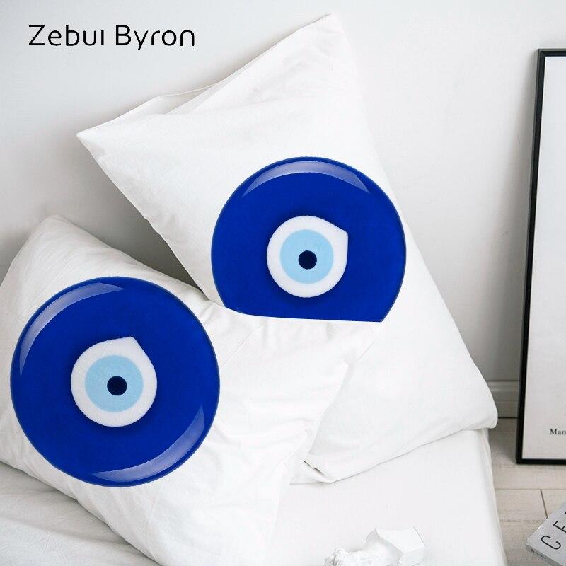 3D Pillow Case Pillowcase Custom/50x70/50x75/50x80/70x70 Decorative Pillow Cover Evil eye Bedding Drop Ship|Pillow Case| |  - title=