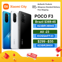 "Original Global Version POCO F3 NFC 5G 6GB 128GB/8GB 256GB Smartphone Snapdragon 870 Octa Core 6.67""AMOLED Display 48MP 33W Fast 1"