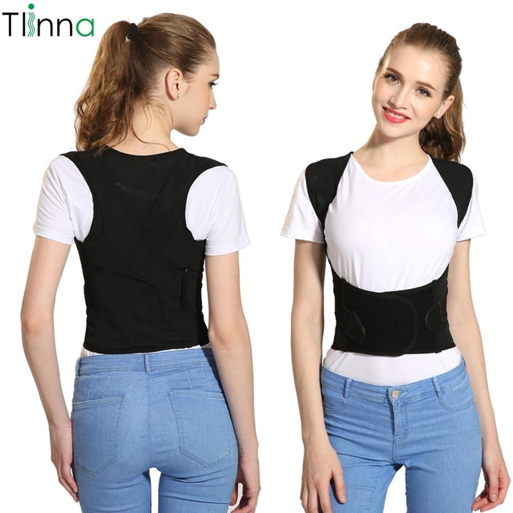 Tlinna Back Posture Corrector Therapy Corset Spine Support Belt Lumbar Back Posture Correction Bandage For Men Women