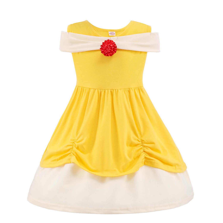 Novo Disney Menina Roupa Do Bebê Meninas Vestido de Festa Roupas Cosplay Verão Newborn Bebe Roupa Dos Miúdos Traje de Halloween Infantil Moda