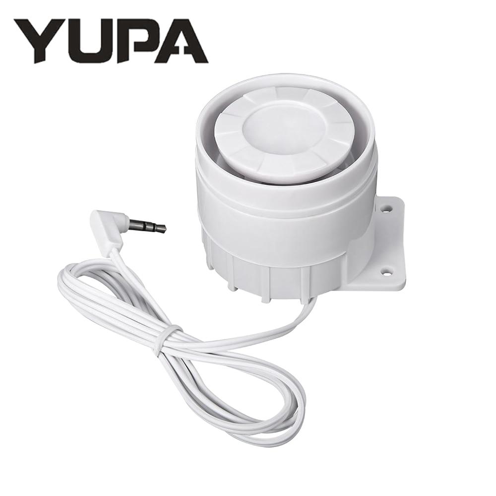 Wired Siren Speaker For Alarm Host Pg-103 Pg-105 Pg-106 Pg-107 Wifi Gsm Home Security Alarm System