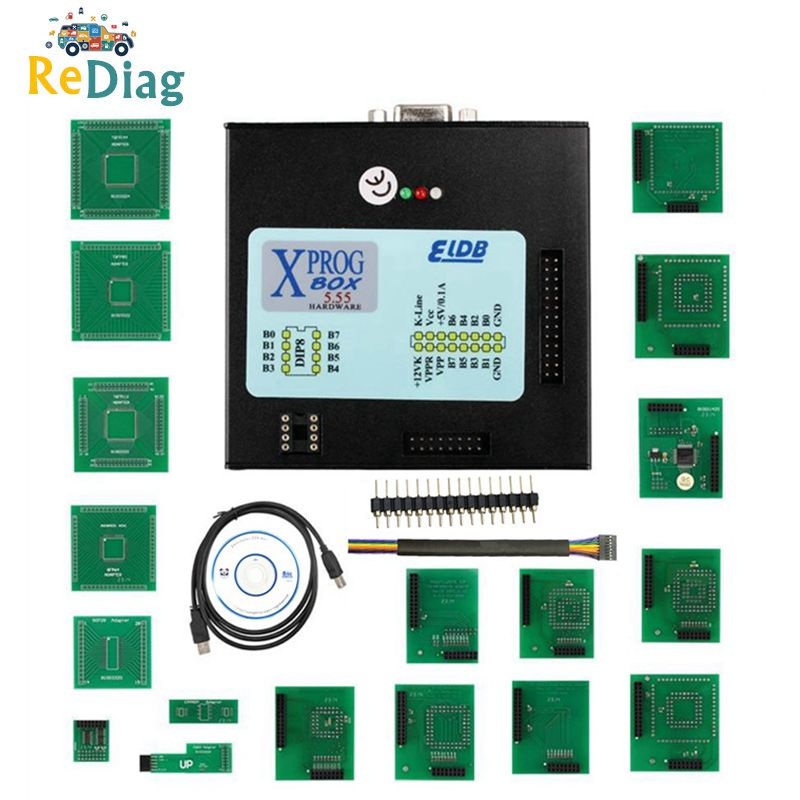 High Quality <font><b>XPROG</b></font>-M <font><b>5.84</b></font> 5.55 5.70 5.74 5.60 Auto ECU Programmer X-prog V5.84 XProg5.84 Box Chip Tuning Tool Best Selling image