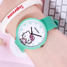 Girls boys Fashion Cartoon Watches Cute Children Watches Chi