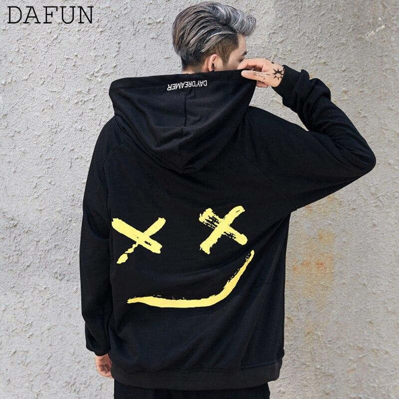 Mens Hoodies Sweatshirt Streetwear Men Black White Hip Hop Hoodie Patchwork Sweatshirts Pullover Outerwear Coats Sudaderas