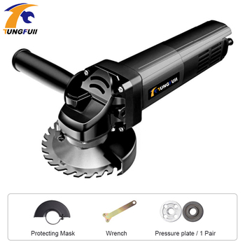 цена на 1300W 220V Angle Grinder Cutting Machine 100mm Electric Angle Power Tool Grinding Electric Cutting Tool Polishing Machine
