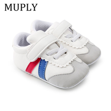 New Baby Fashion Sneakers Soft Sole Infant Baby First Walkers Toddler Prewalkers Hot Sport Shoe