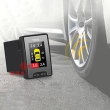 Car OBD Tire Pressure Monitor Security Alarm System Digital LCD for Toyota Corolla RAV4 Camry Highlander 2015-2019
