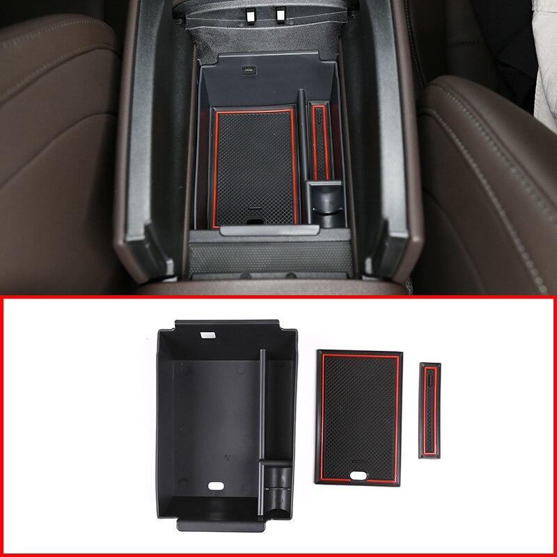 Mercedes Benz GLE sınıf GLE350 W167 2020 araba merkezi kol dayama saklama kutusu konteyner tepsisi organizatör aksesuarları AMG logosu