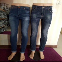 Plastic 2style women mannequin pants model lower body display jeans trousers casual legs doll props one piece D139