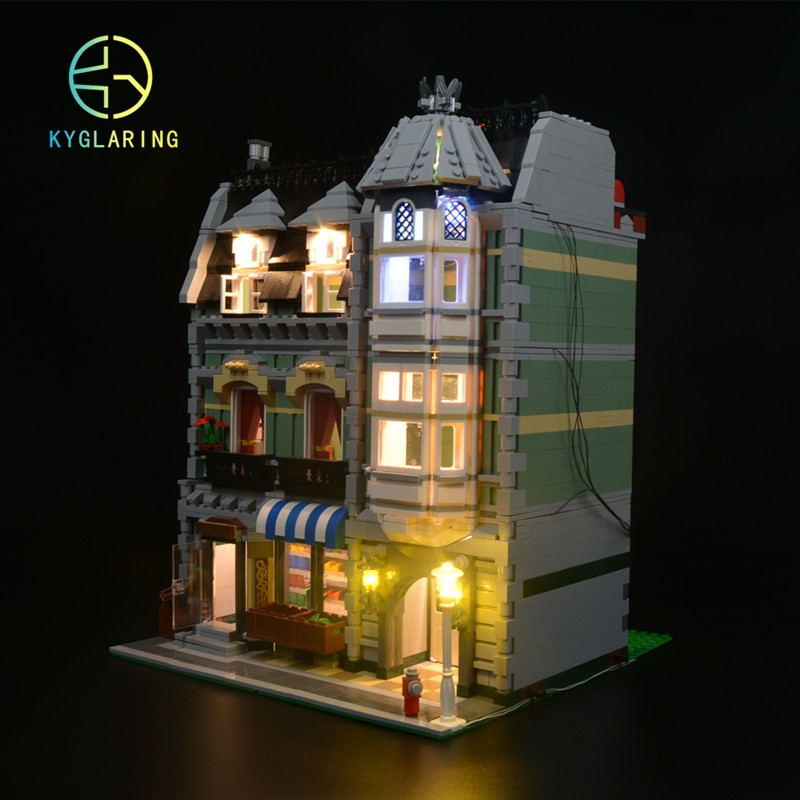 for LEGO CREATOR MODULAR BUILDING and LED light kit only light included