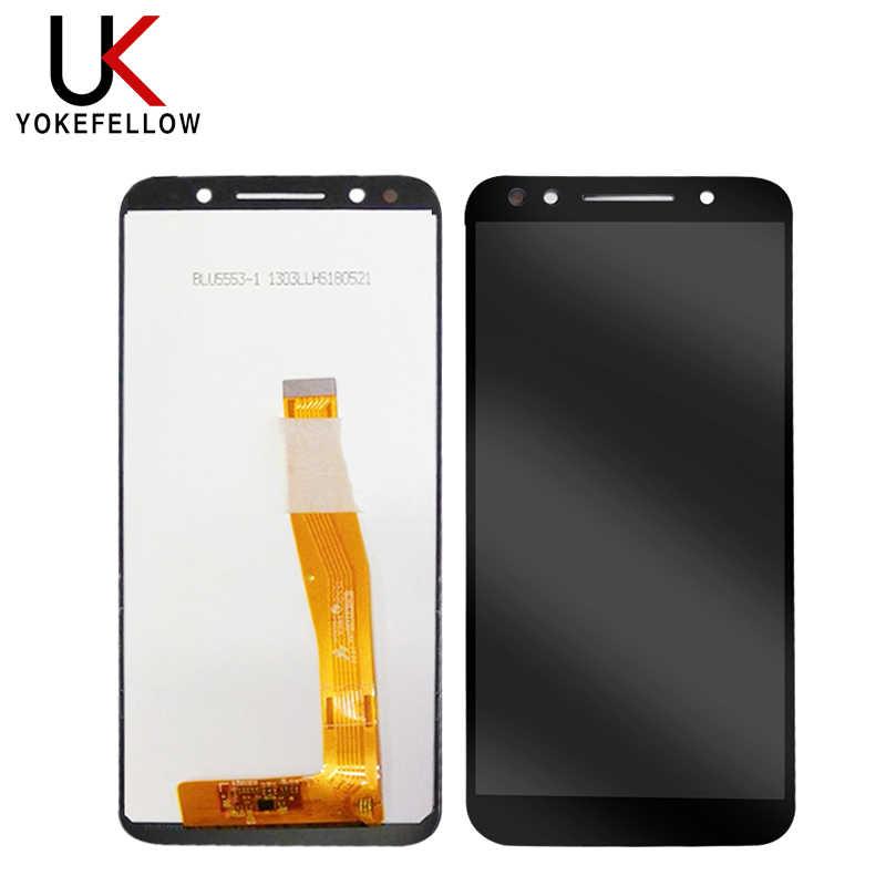 Chan 5,5 ''Neue Schwarz/Weiß Für Alcatel 3 5052 5052D 5052Y Volle LCD DIsplay + Touch Screen Digitizer montage