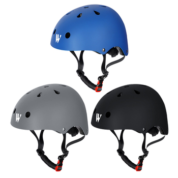 Material de PVC Ventilación ajustable montar Cap niños ciclismo equilibrio coche Scooter casco protector extraíble y lavable