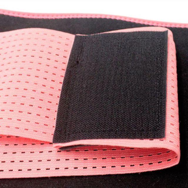 Waist Slimming Trimmer Trainer Belt Weight Loss Premium Neoprene Sport Sweat Waist Belt Body Shaper Sauna Exercise 5