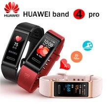 Huawei להקת 4 פרו חכם להקת קצב לב בריאות צג העצמאי GPS פרואקטיבית בריאות ניטור צבע מסך מגע דם חמצן